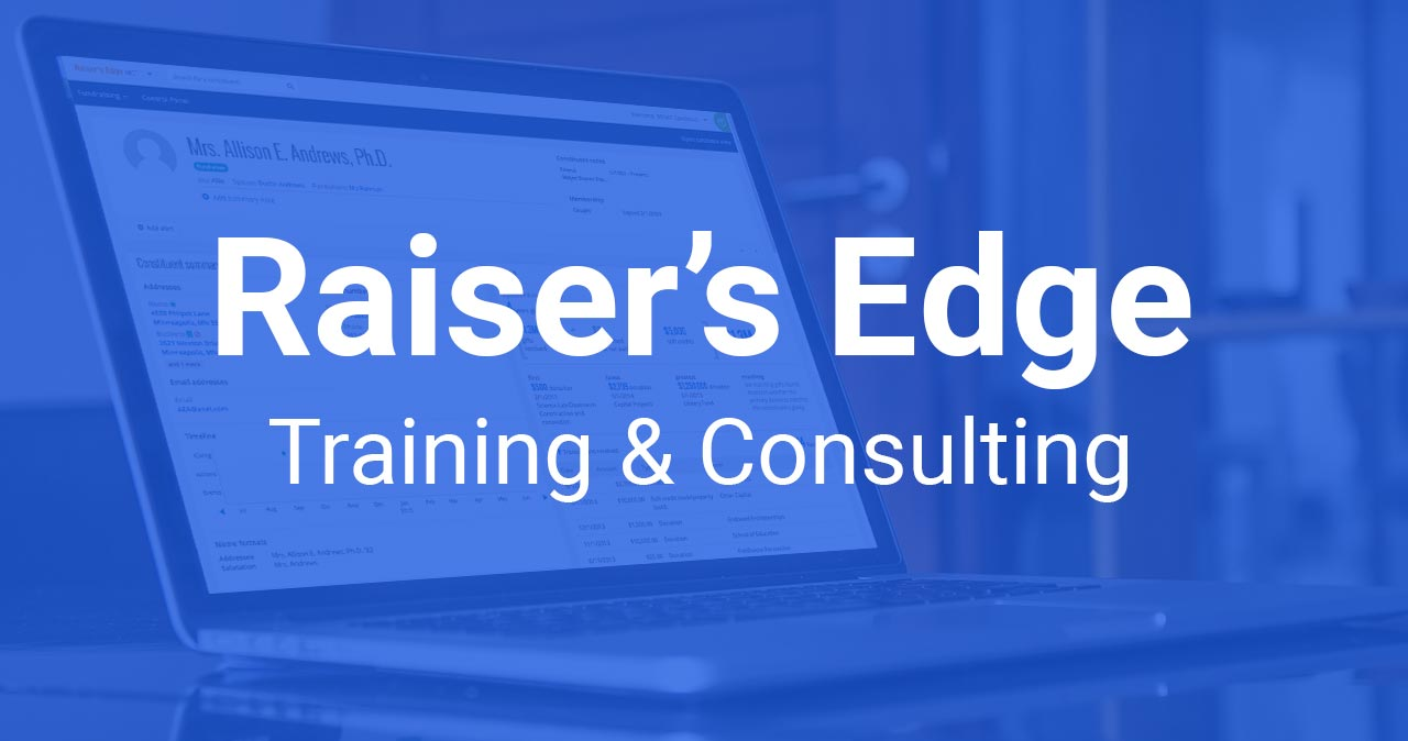 Raiser's Edge Training and Consulting