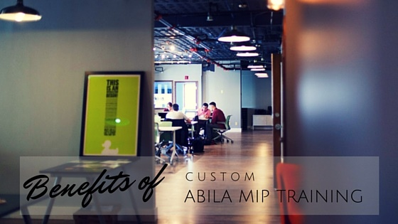 Custom Abila MIP Training for Nonprofits