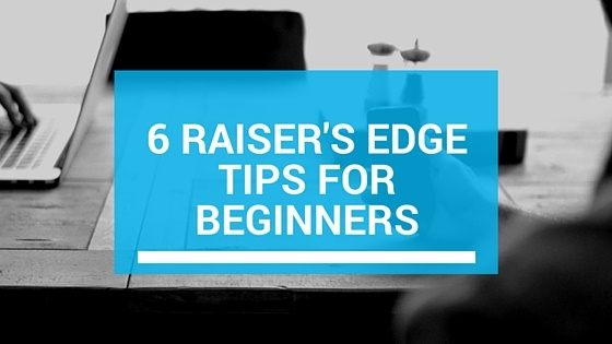 6 Raisers Edge Tips for Beginners