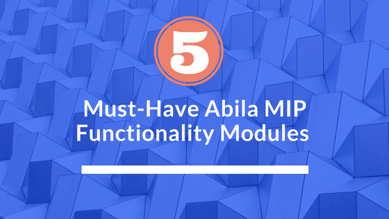 abila-mip-functionaltiy-modules