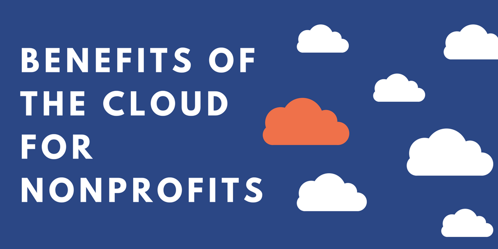 benefits of the cloud nonprofits
