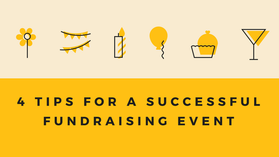 4 Tips for a Successful Fundraising Event