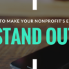nonprofit emails stand out