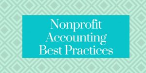 best practices for nonprofit accounting