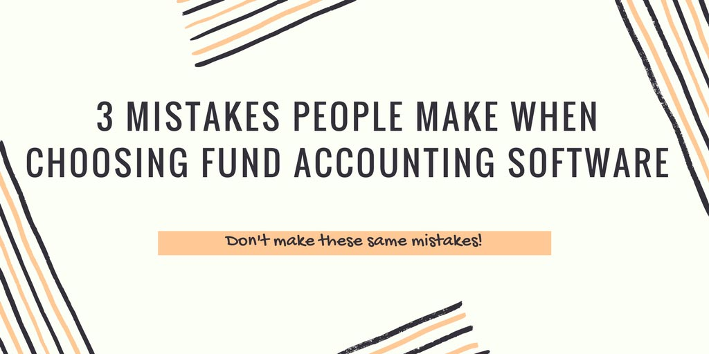 mistakes when choosing accounting software