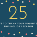 25 ways to thank volunteers