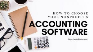 nonprofit accounting software