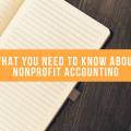 what you need to know about nonprofit accounting