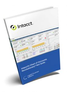 Intacct's chart of accounts whitepaper