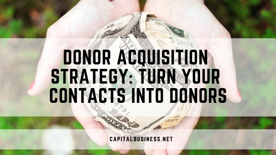 donor acquisition strategy