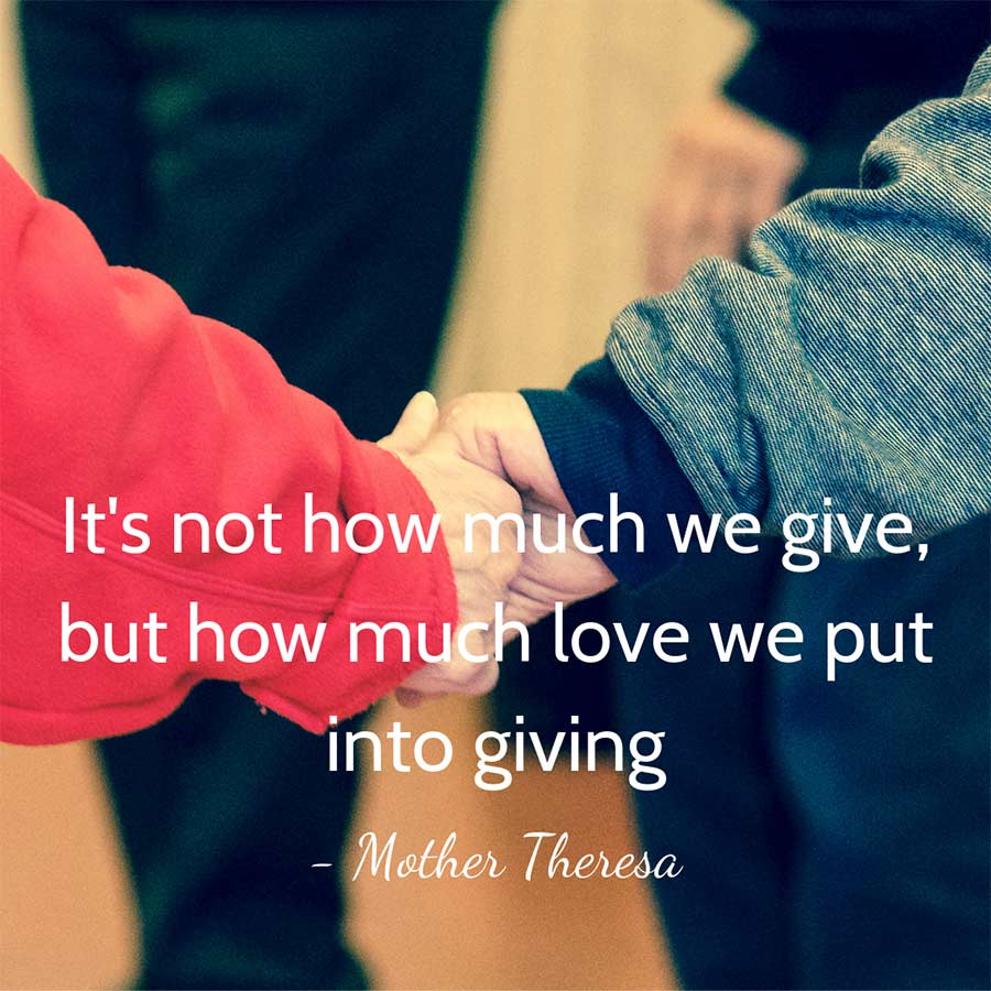 Mother Theresa Quote - Nonprofits