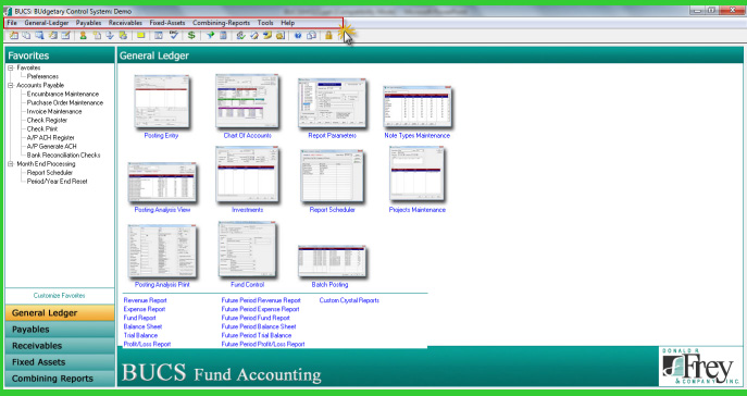 nonprofit accounting software by BUCS