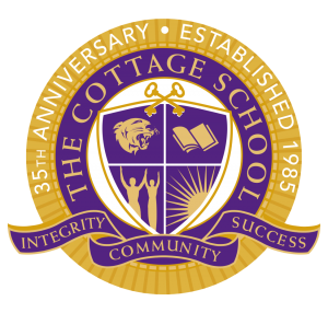 the cottage school logo