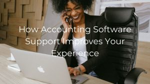 Nonprofit accounting software support