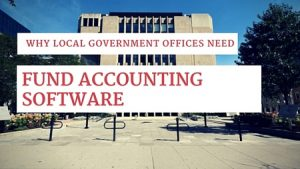 local government offices fund accounting software
